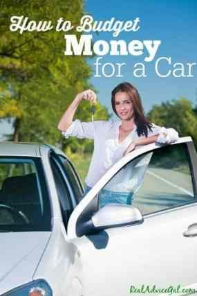 How to Save Money for a Car