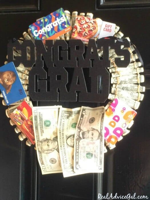 graduation wreath