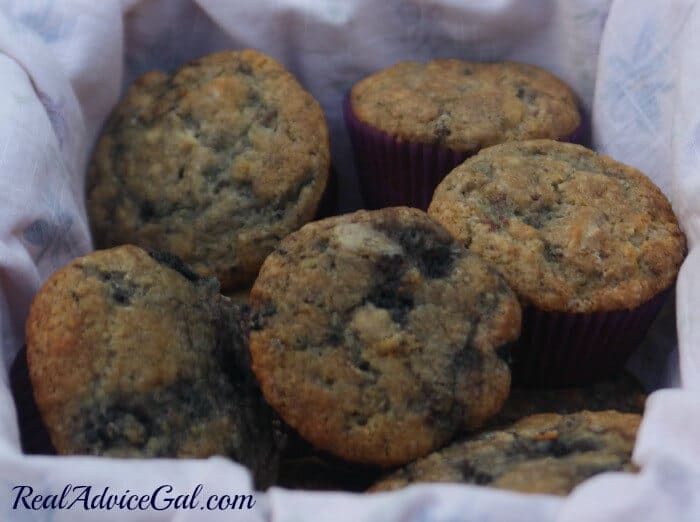 Yummy mulberry muffins that's moist and perfect back to school breakfast or after school treats.