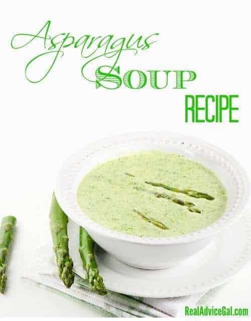 Easy and so tasty asparagus soup recipe