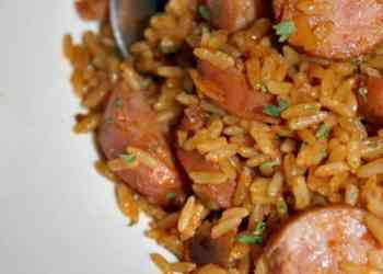 One Pot Jambalaya With Turkey Sausage Recipe
