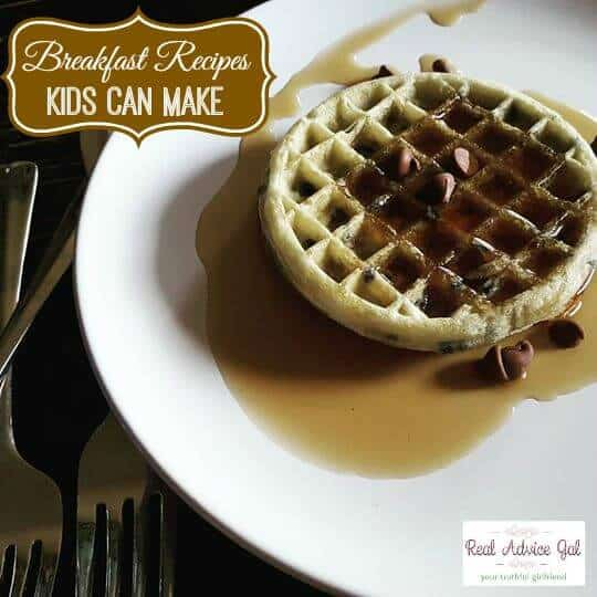 Breakfast Kids Can Make Themselves