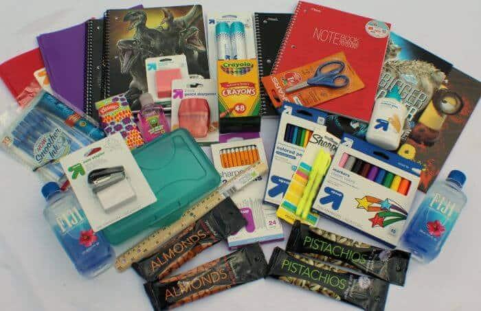 giving back packs school supplies