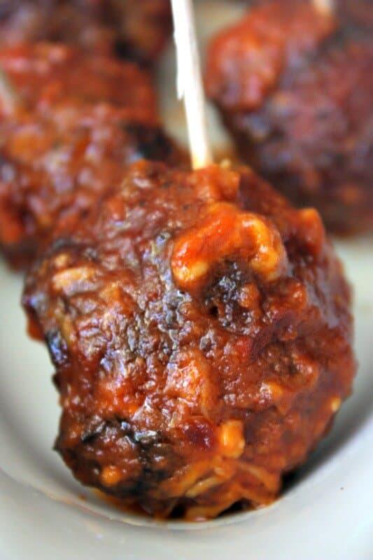 slow cooker gluten free meatballs