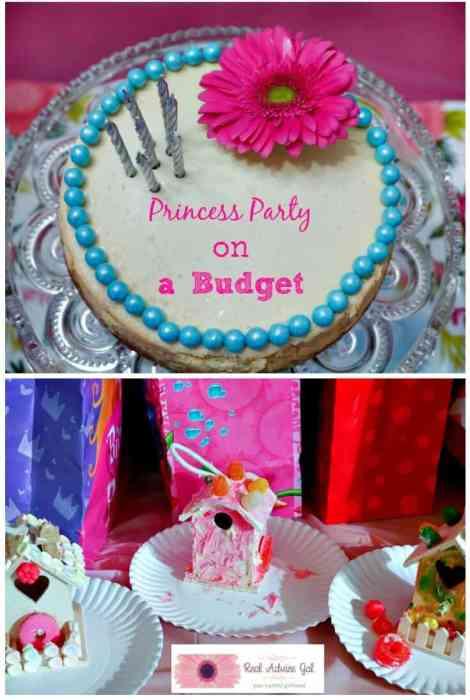 princess birthday party ideas on budget