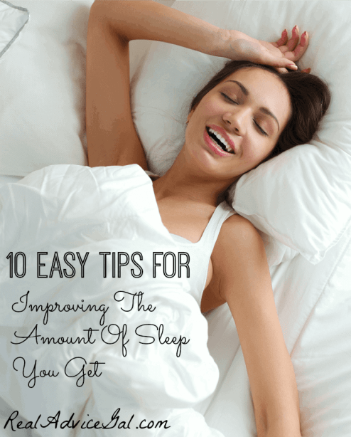 Improving The Amount Of Sleep You Get