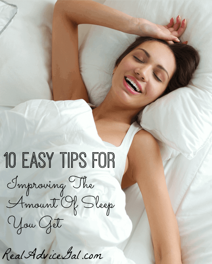 Improving The Amount Of Sleep You Get