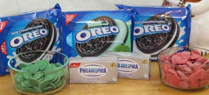 Oreo Cookie Balls ingredients