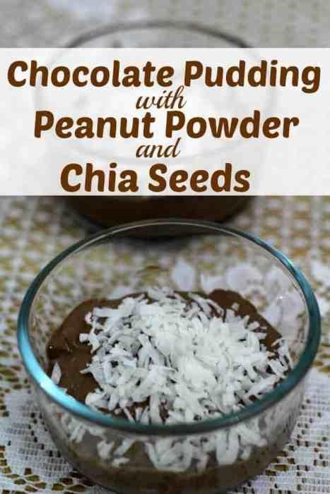 Chocolate Peanut Powder Recipe with Chia Seeds