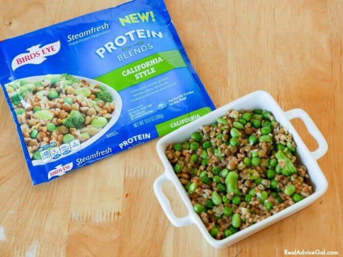 Easy Vegetable Recipe using Birds Eye® Protein Blends