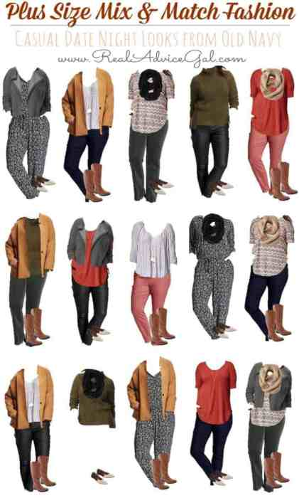 Date Night Plus Size Fashion for Less