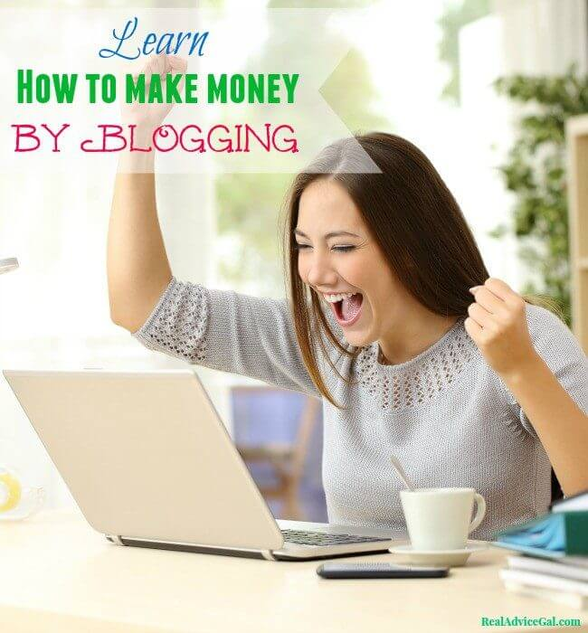 Learn how to make money by blogging
