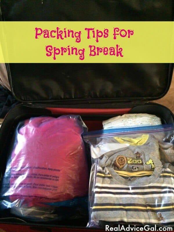 Packing for Spring Break