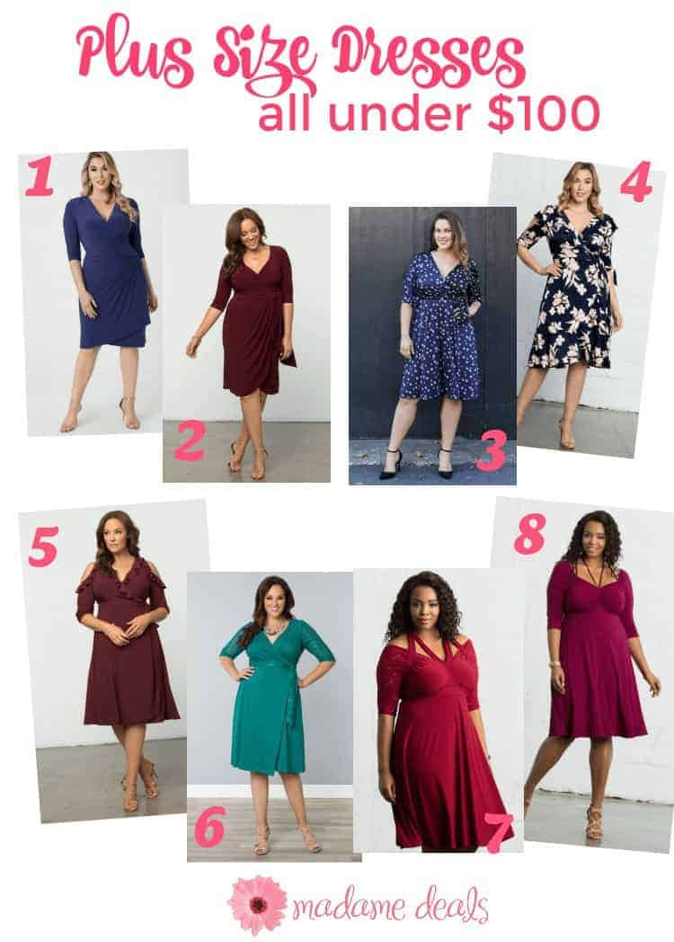 Fab plus size dresses under 100 from Kiyonna