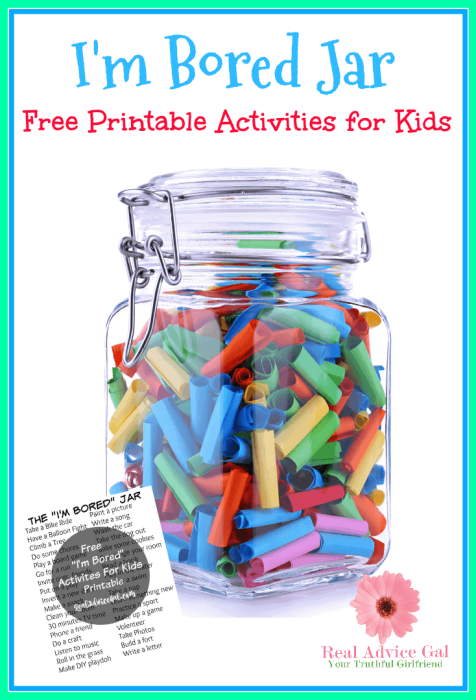 Free I M Bored Jar Printable For Kids
