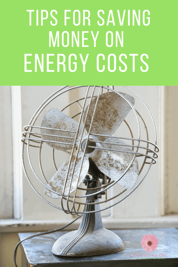 Energy Costs: Learn How to Keep Energy Costs Down During the Summer with our great tips that are part of how we live on $30,000 or less per year!