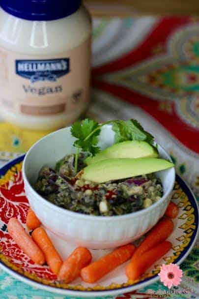 Black Bean & Quinoa Salad