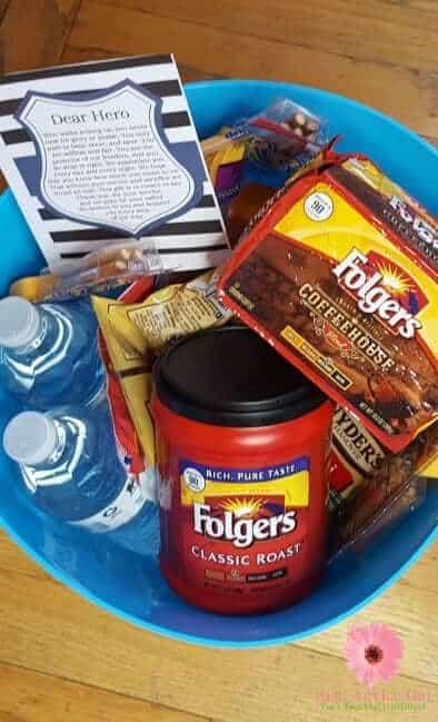 folgers gift basket