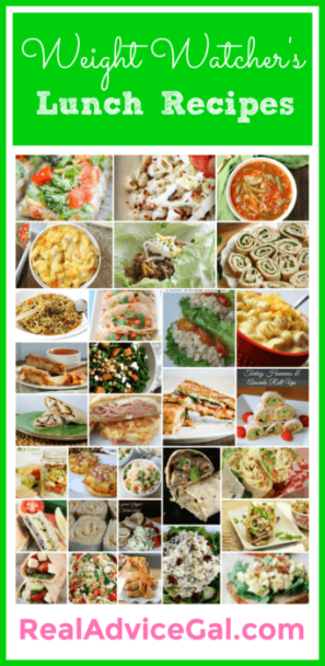 Weight Watchers Lunch Recipes with Points Plus