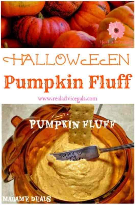 So delicious kids pumpkin fluff recipe for Halloween
