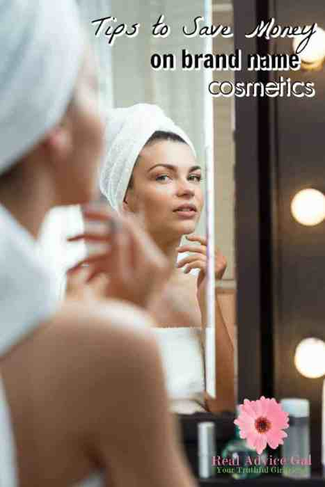 Get our secret tips on how you can save big on branded cosmetics and beauty products.