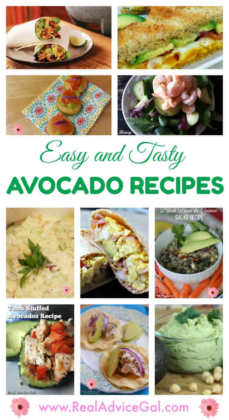 Easy and tasty ways to use avocados
