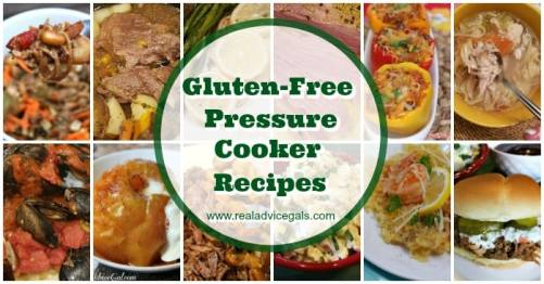 Don't let your gluten allergy stop you from enjoying delicious food. Check out my favorite Gluten Free Pressure Cooker Recipes