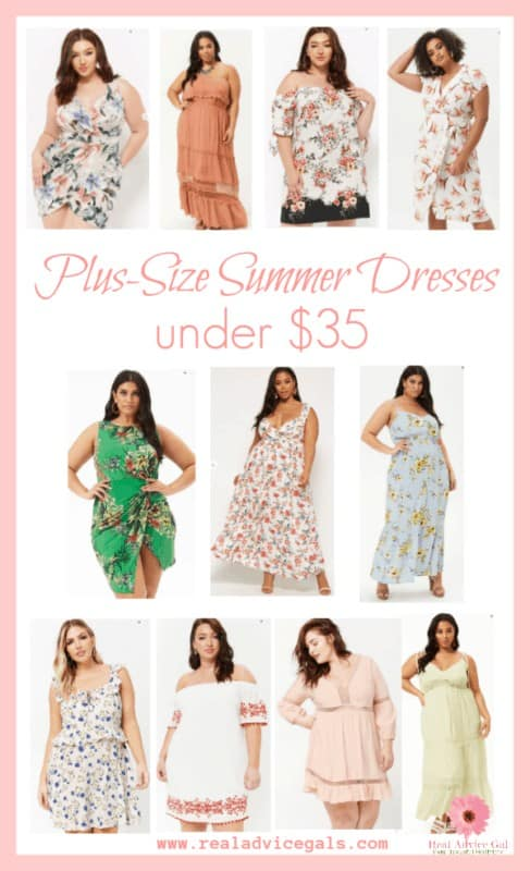 Get ready for summer with these fab Plus-Size Summer Dresses Under $35