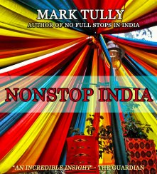 The cover for Mark Tully's beautiful tale set in India gets a vibrant look with this image snapped in the craft market of Dilli Haat, New Delhi. Buy the book here