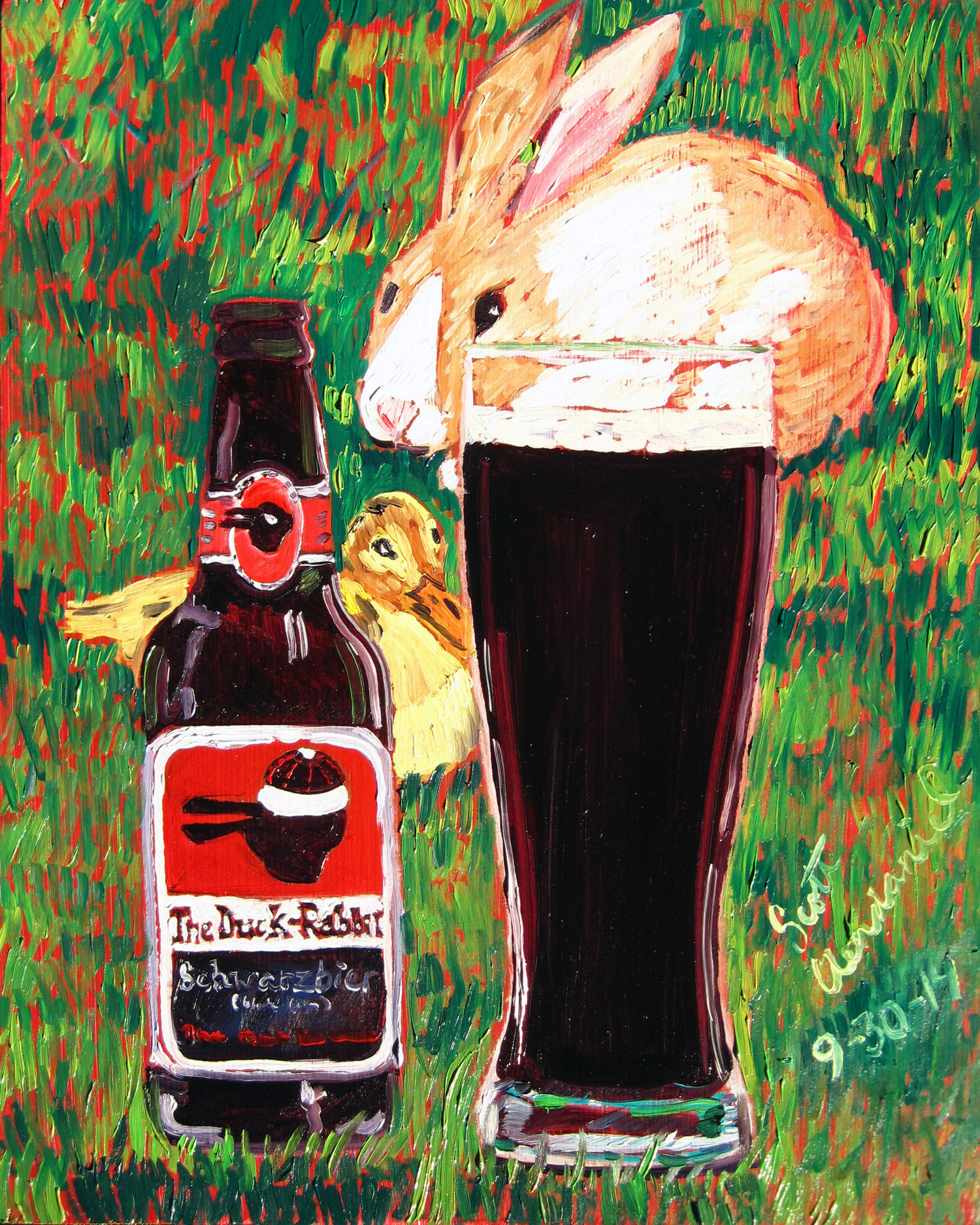 Year Of Beer Paintings Day 273 Real Art Is Better