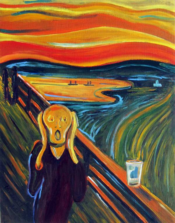Famous Scream Painting Artist