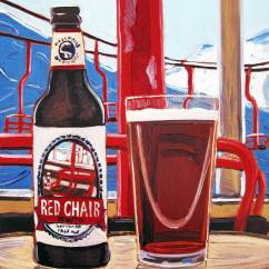 Deschutes Red Chair With Stool Thirsty Thursday Beer Painting 13 March 26 2015 Real