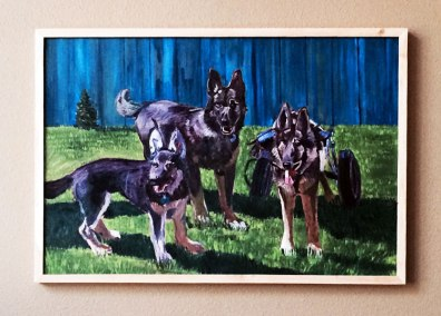 dogs-painting