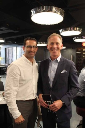 Adam S. Rappaport and Brett Greenberg of Jack Resnick & Sons hosted the cocktail hour at 10 Corso Como
