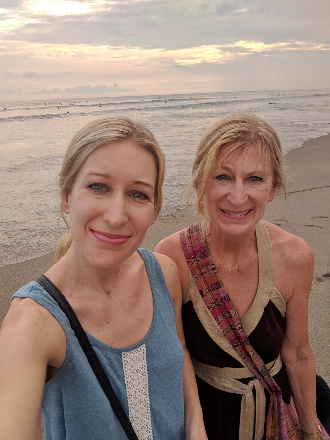 deb and darcie in bali