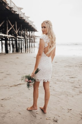 Darcie wedding photo at beach in San Diego