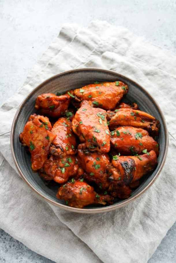Instant-Pot-Low-Carb Sweet-and-Spicy Barbecue-Chicken-Wings