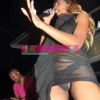 Reggae Star D'Angel Wardrobe Malfunction, Vagina Exposed During Performance [Photos]