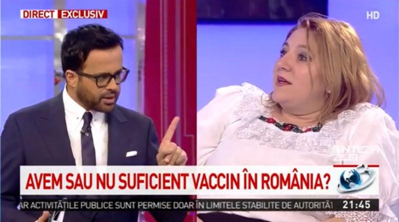 (VEDEO) Scandal în direct între Diana Şoşoacă și Mihai Gâdea. Senatoarea a plecat enervată din platou după ce a fost făcută praf de prezentator