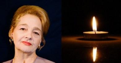 A murit actrița Georgeta Luchian Tudor, soția lui Tudor Gheorghe. Anunțul a fost făcut de Teatrul Național Craiova