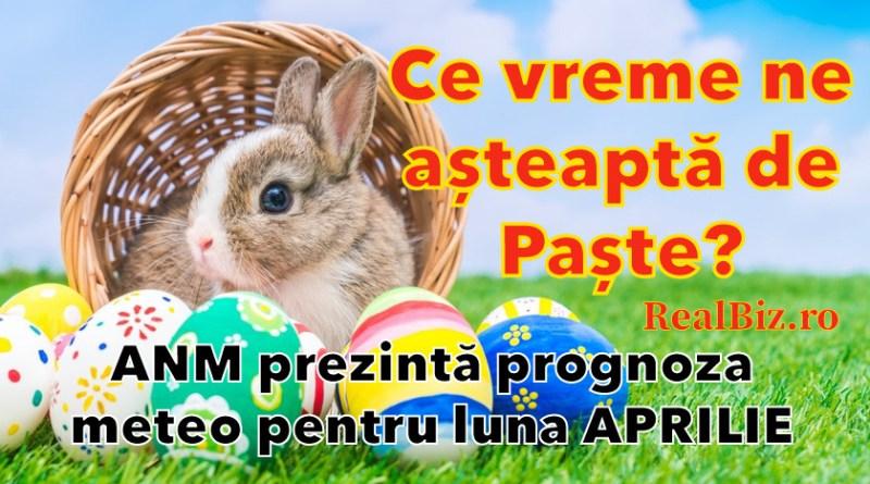 Ce vreme ne așteaptă de Paște? ANM aduce toate informațiile despre prognoza meteo în perioada 5 aprilie - 3 mai