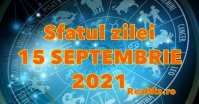 Sfatul zilei 15 septembrie 2021. Racii și Leii trebuie să verifice veridicitatea unor fraze, iar Fecioarele nu trebuie să se enerveze la…