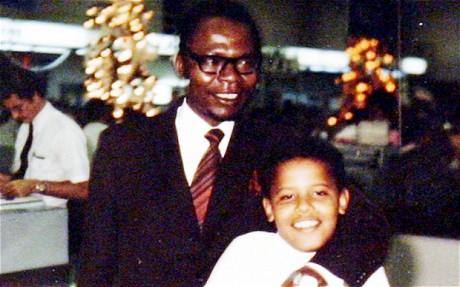 Obama Sr. Embrace your Black