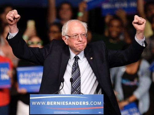 Bernie Sanders in WA