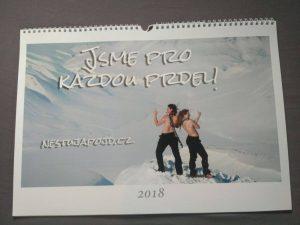 Kalendář nestůj a pojď 2018