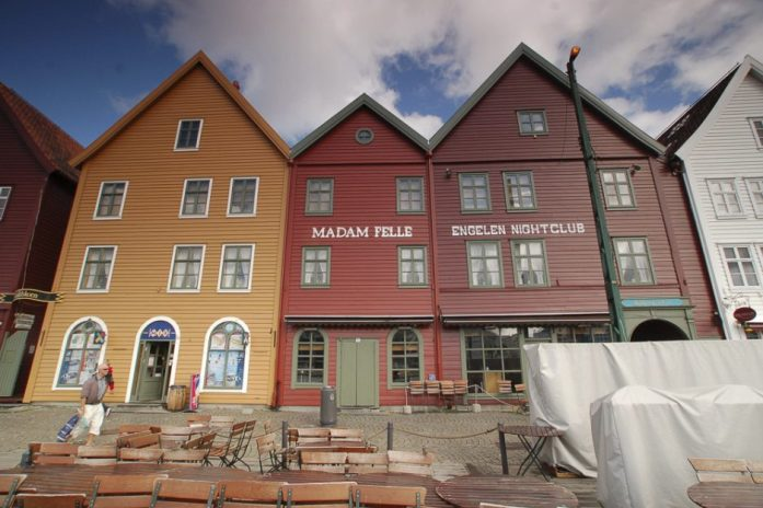 Bryggen v Bergenu