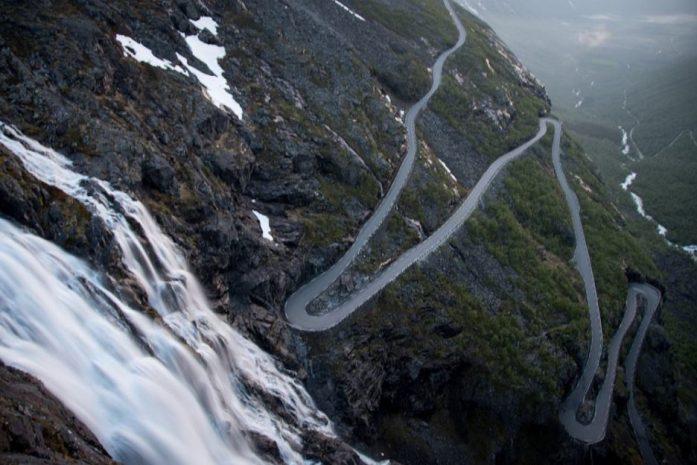 Cesta Trolů v Norsku