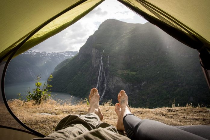 Free camping in Norway