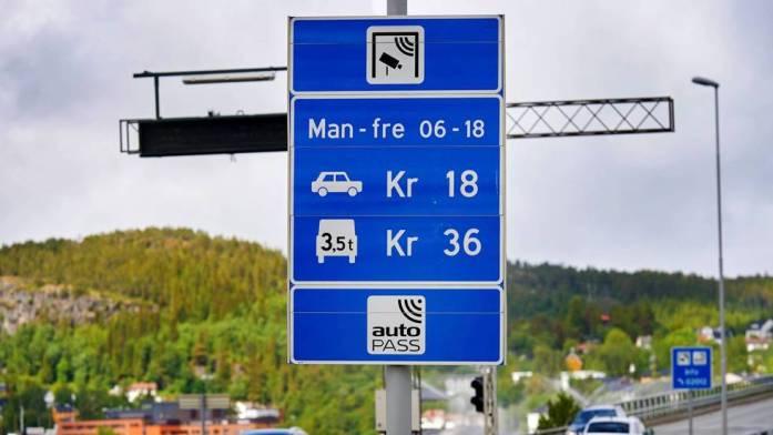 Mýtná brána v Norsku