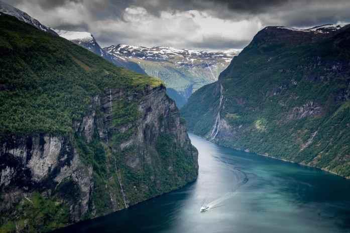 Západní Norsko Geirangerfjord